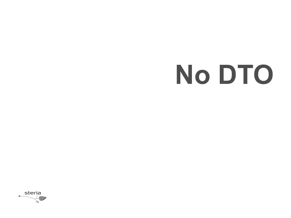 No DTO