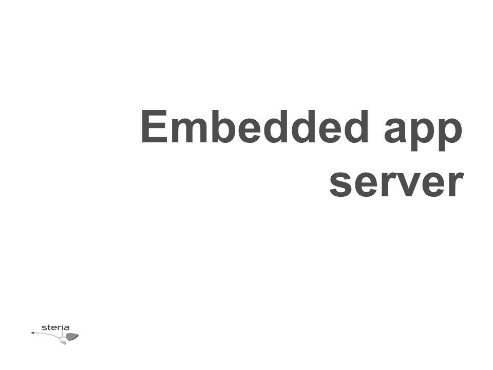 Embedded app server