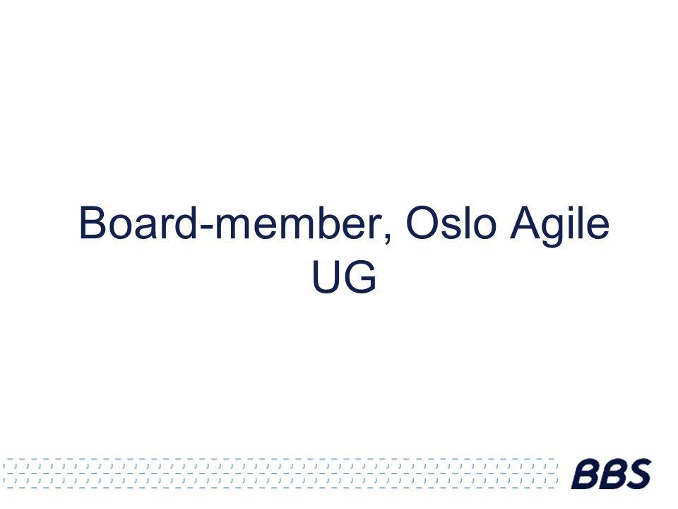 Board-member, Oslo Agile UG