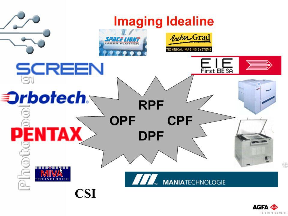 Imaging Idealine RPF OPFCPF DPF CSI