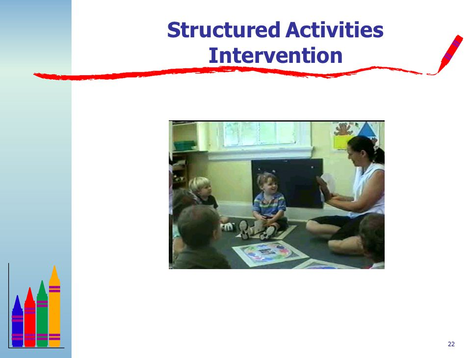 21 Unstructured Activity Intervention