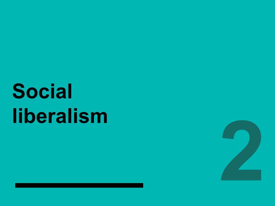 Social liberalism 2.2.