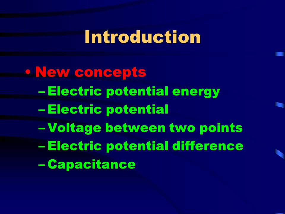 Electric Potential at a Point The electric potential, at a particular location, created by a point charge can be found by using: V = k e (q/r)