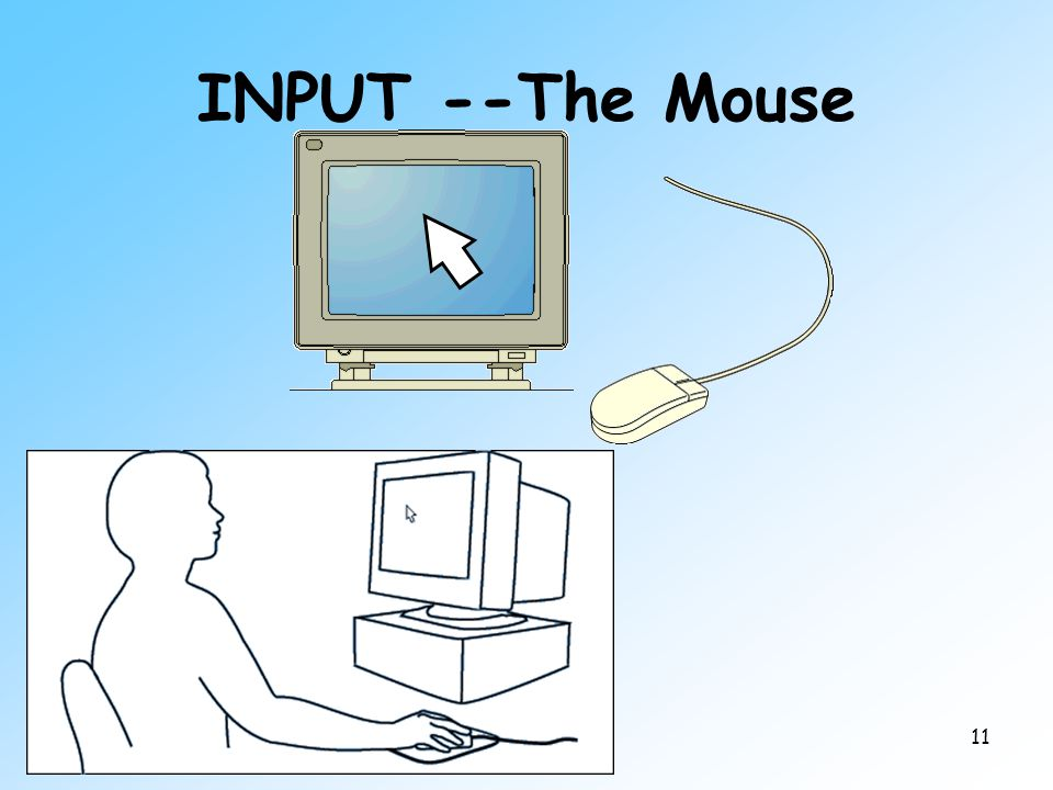 11 INPUT --The Mouse