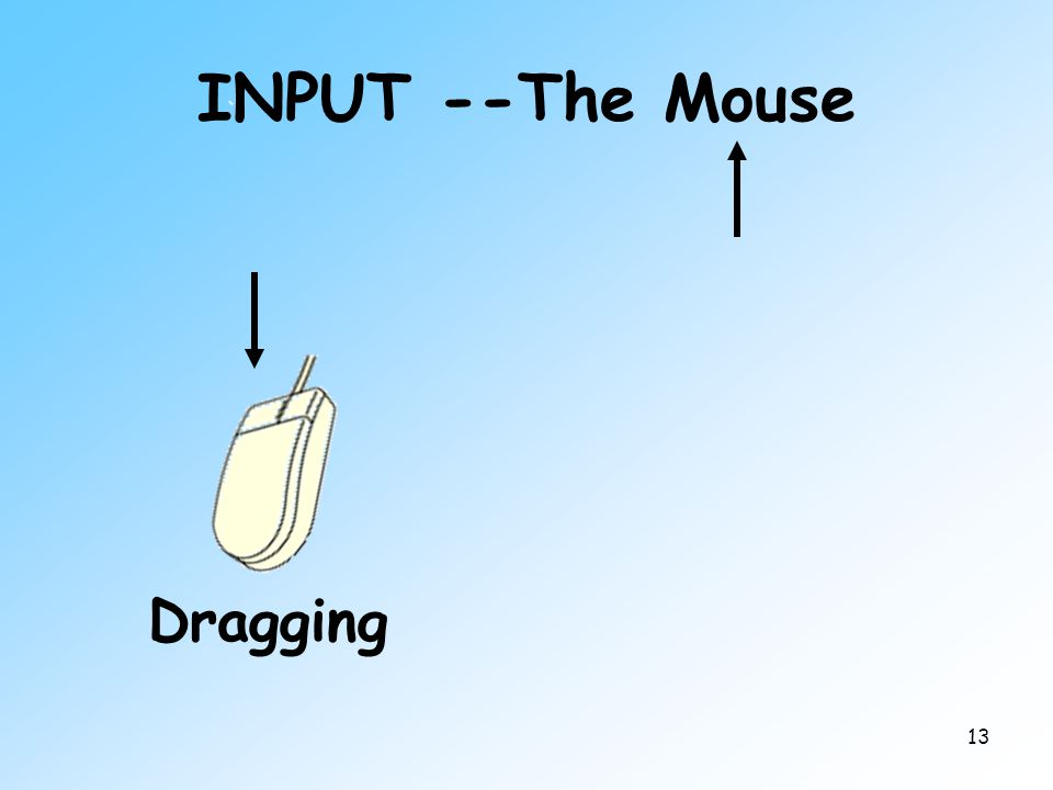 13 INPUT --The Mouse Dragging
