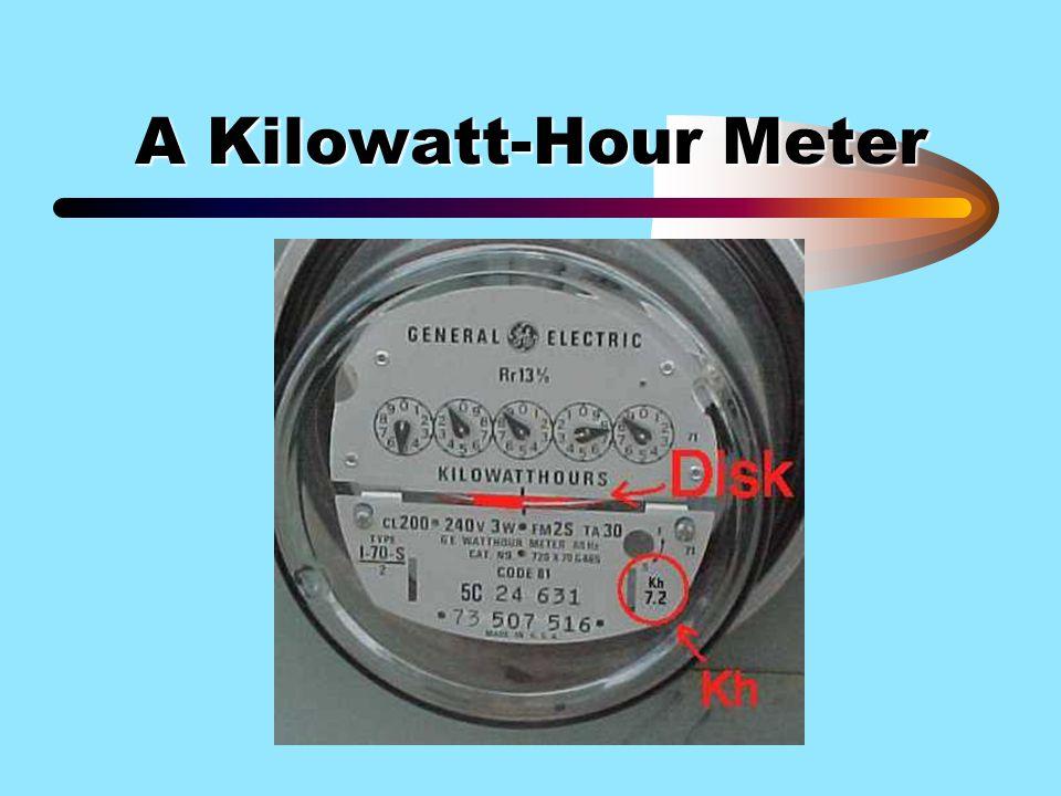A Kilowatt-Hour Meter