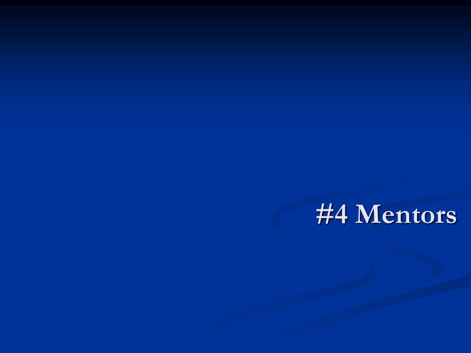 #4 Mentors