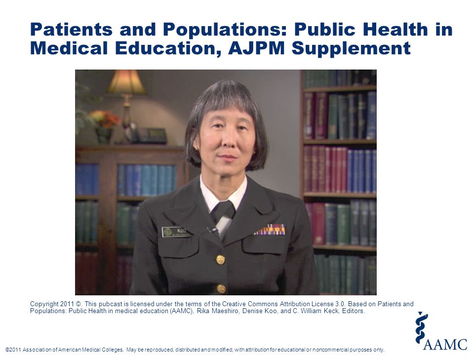 ©2011 Association of American Medical Colleges.