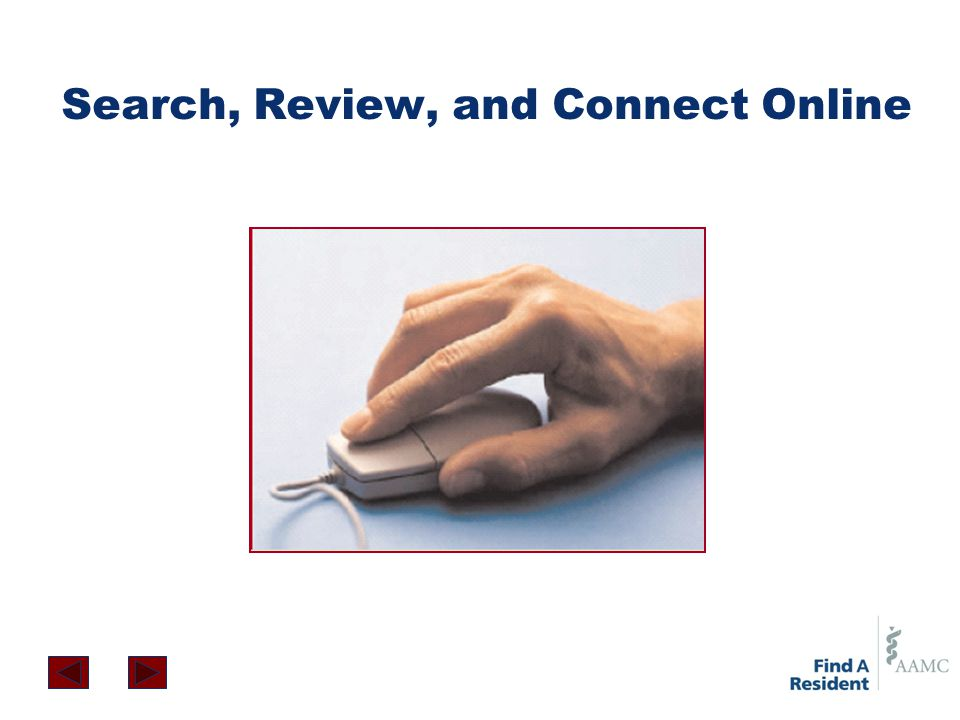 Search, Review, and Connect Online