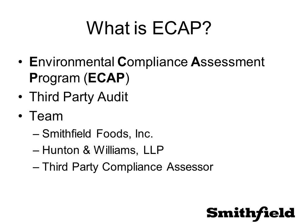 What is ECAP.