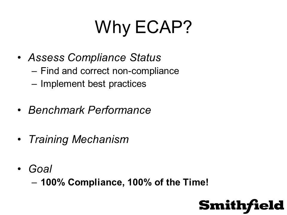 Why ECAP.