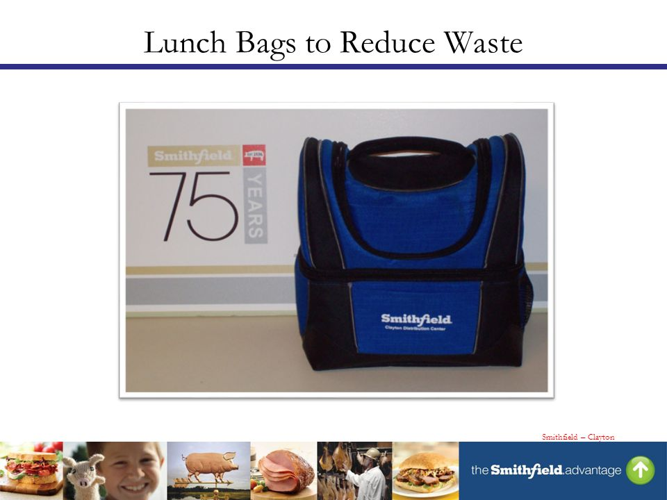Lunch Bags to Reduce Waste Smithfield – Clayton