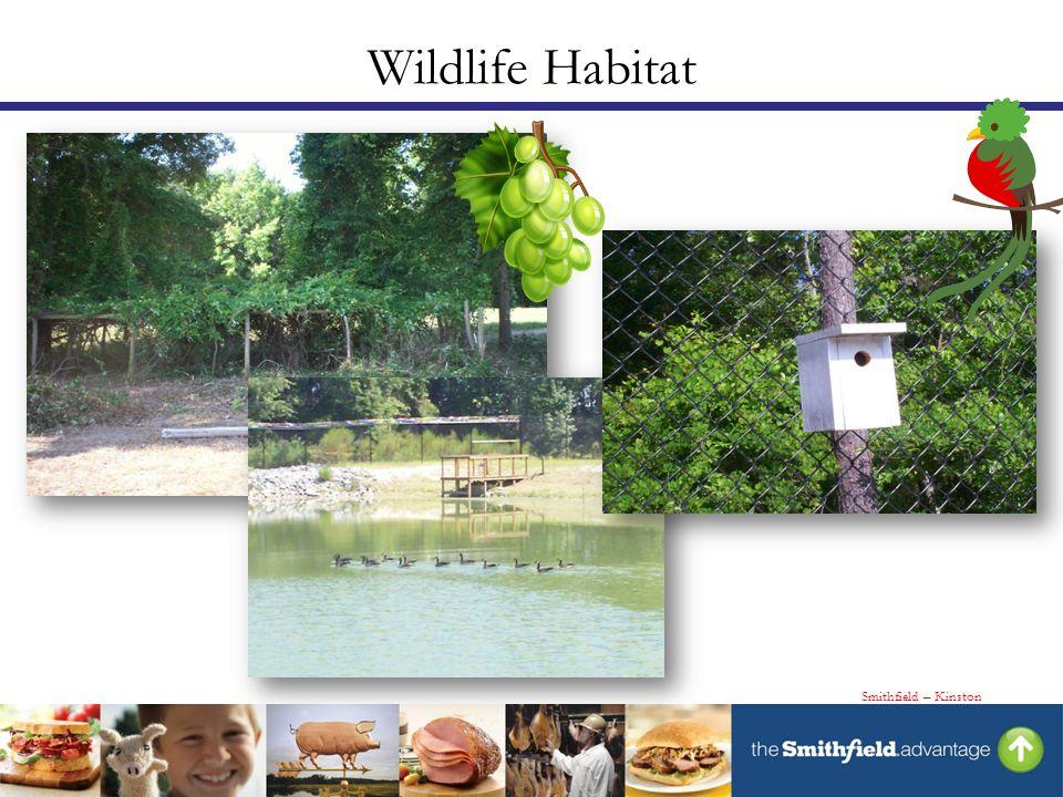 Wildlife Habitat Smithfield – Kinston