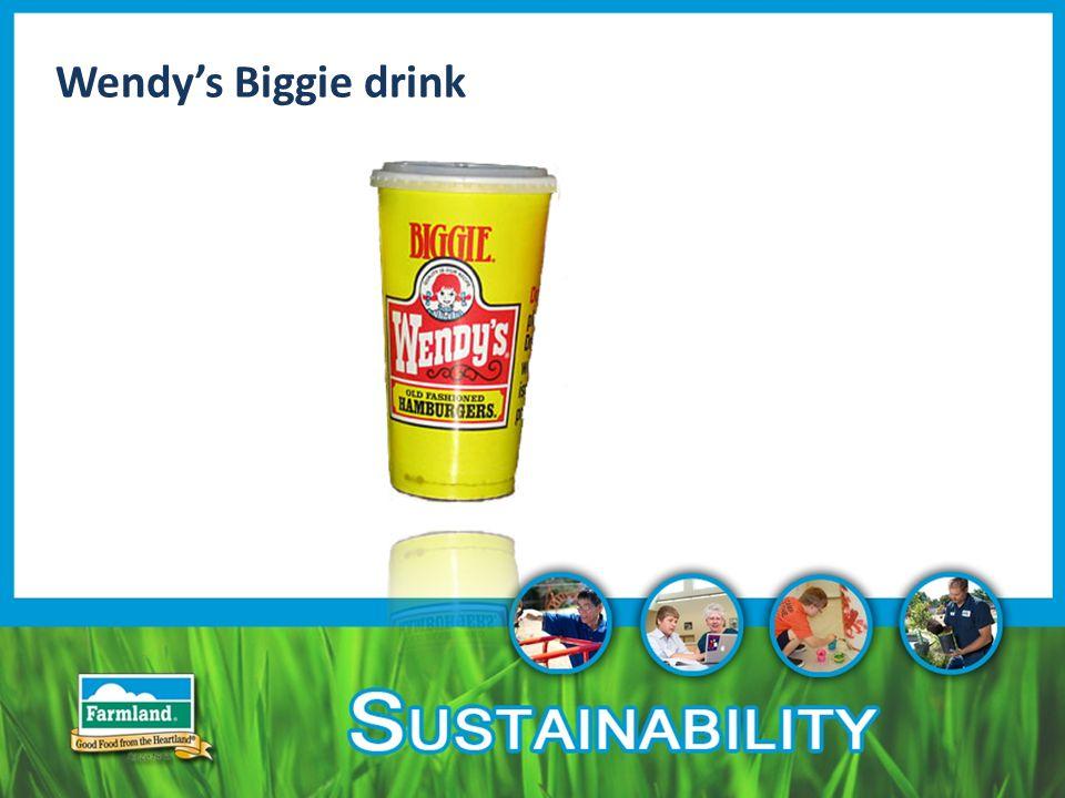 Wendy's Biggie drink
