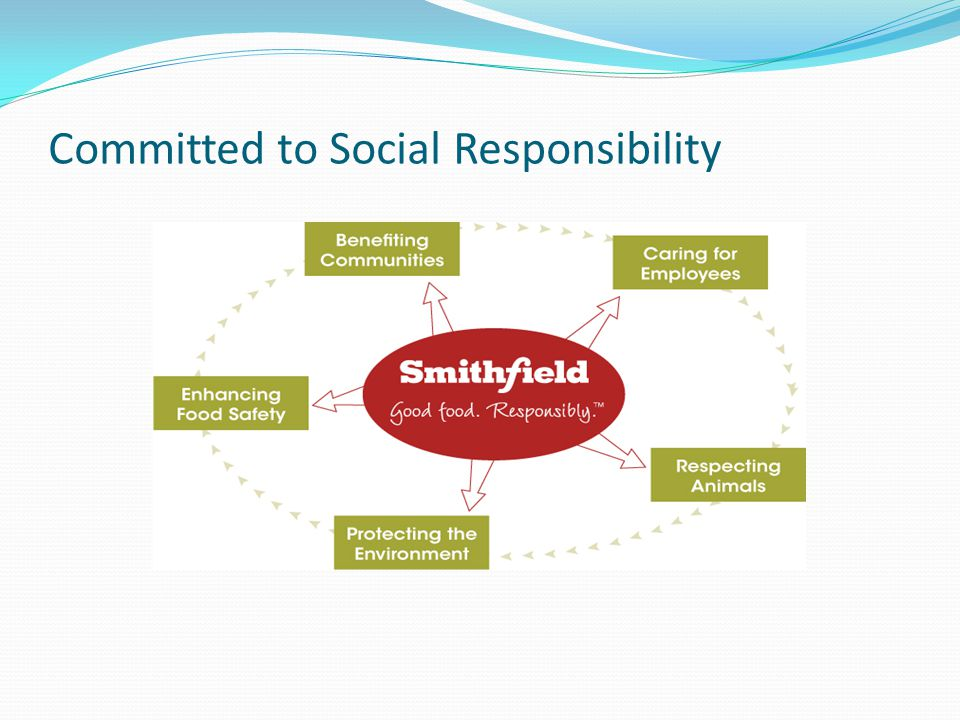Committed to Social Responsibility