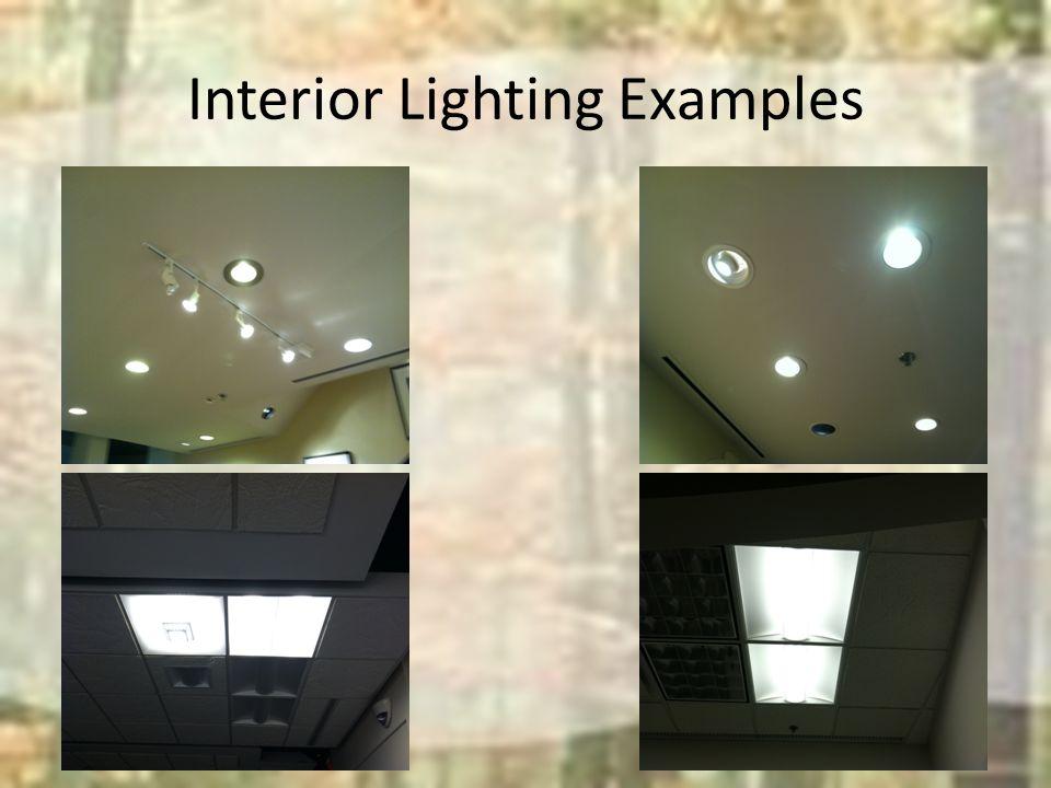 Outdoor Lighting Examples