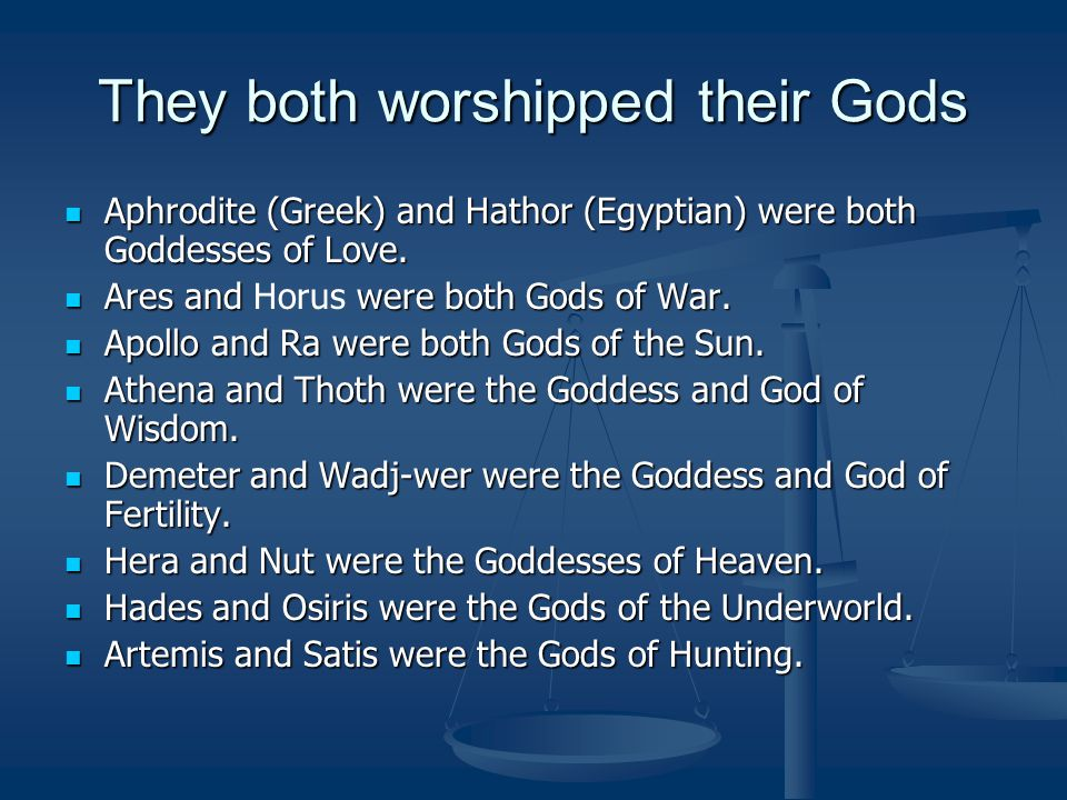 Erebos and Kuk were both Gods of Darkness.Erebos and Kuk were both Gods of Darkness.