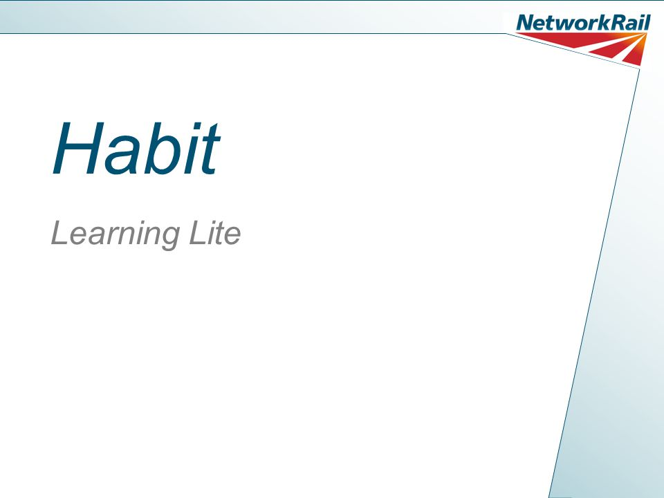 Habit Learning Lite
