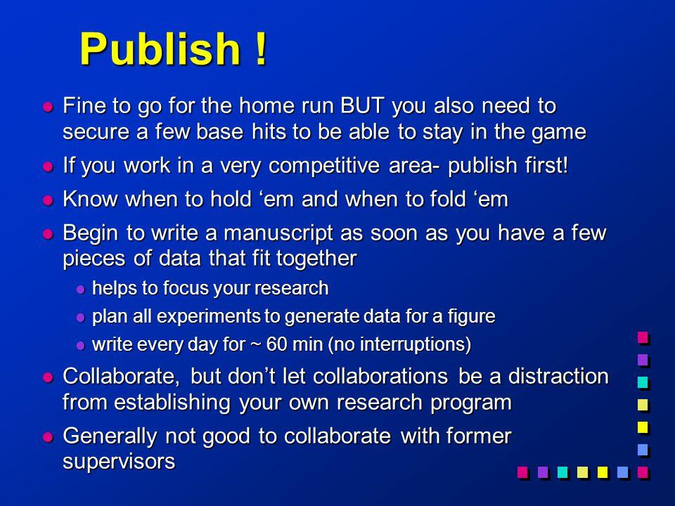Publish .