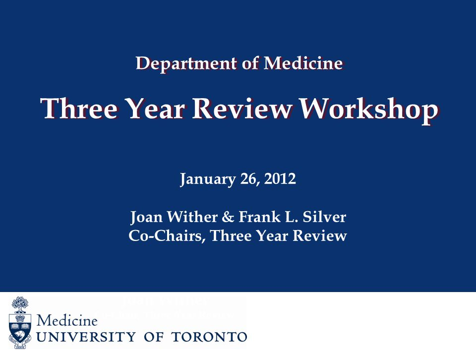 Three Year Review Clinician Scientist/Scientist – Application Tips Judged predominantly on your research success, however evidence of effective teaching and administration will also be sought Cover letter should highlight your achievements and future goals in research – a focused research program is an asset Opportunity to outline any impediments to success – such as protected time, research environment, mentorship, financial support Funding Very important that your role in grants defined Publications Outline clearly how you contributed to the publication (especially important if publishing with previous supervisor)