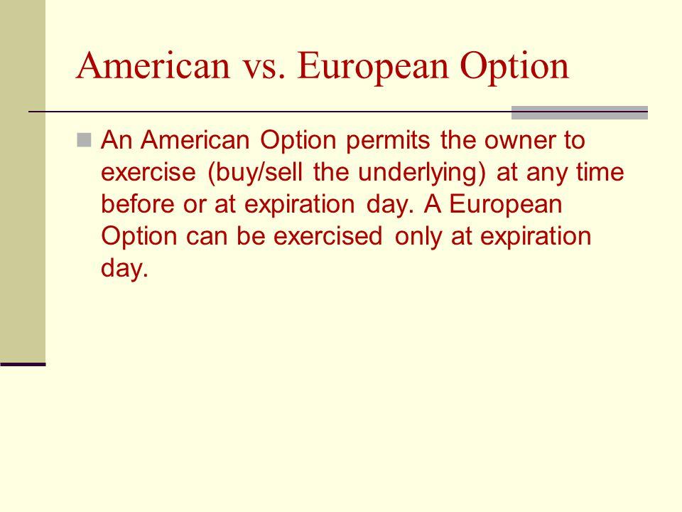 American vs.