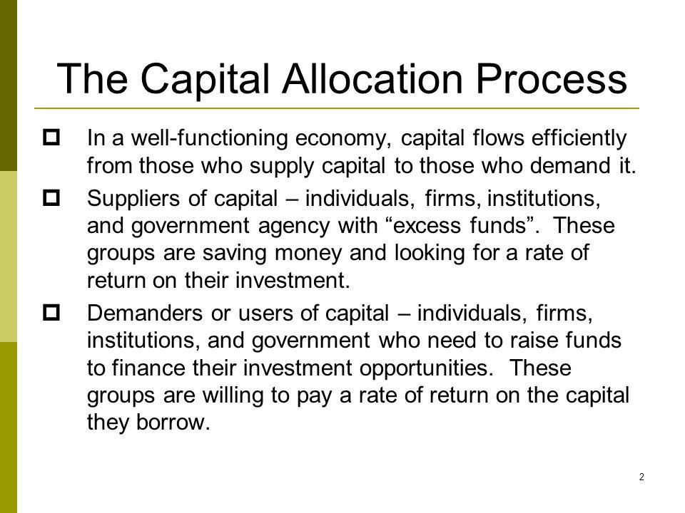 The Capital Allocation Process 3