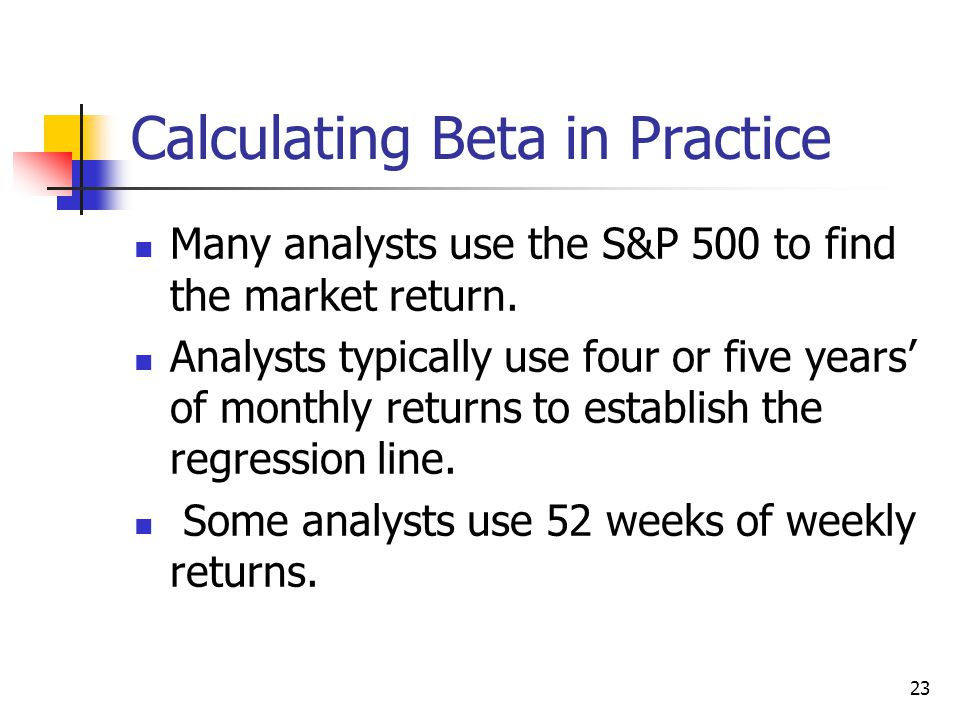 24 How is beta interpreted.If b = 1.0, stock has average risk.