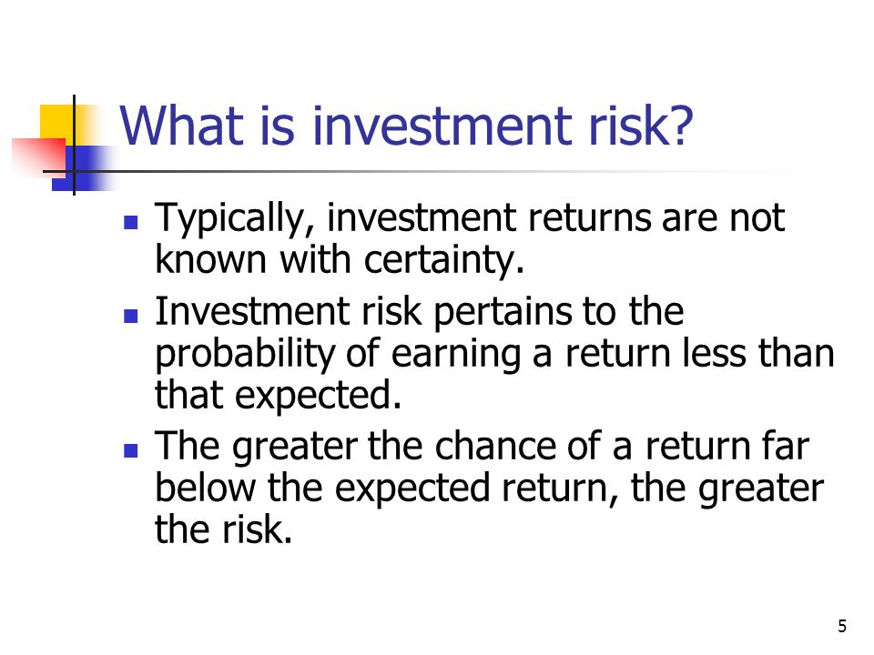 6 Probability Distribution: Which stock is riskier? Why?