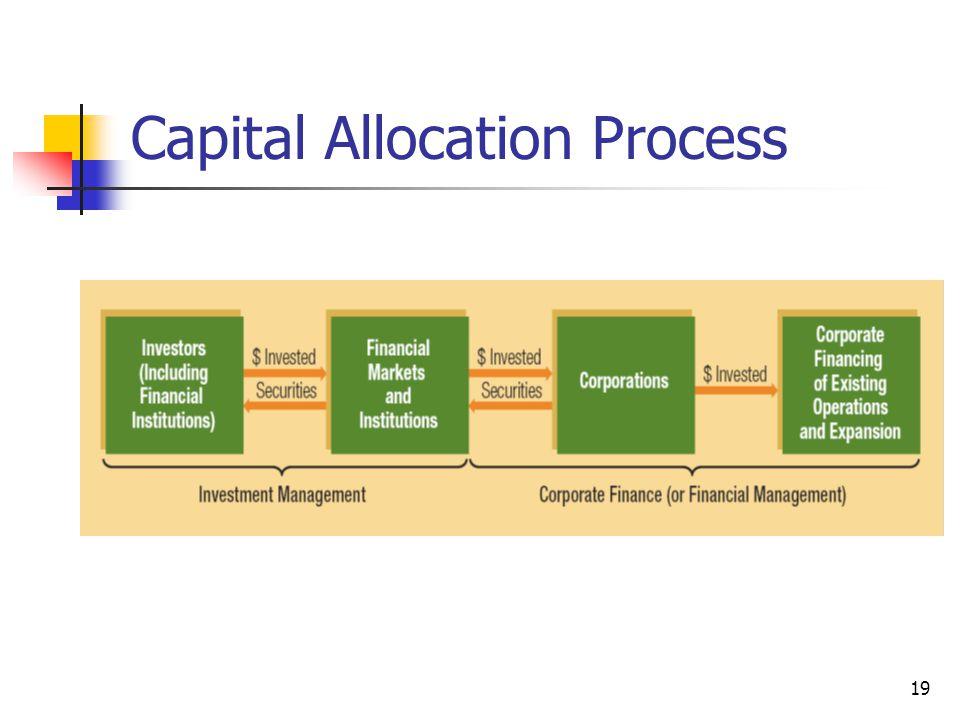 Capital Allocation Process 19