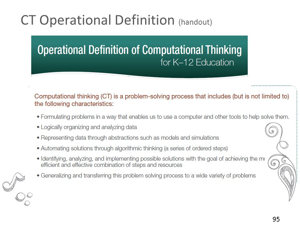 CT Operational Definition (handout) 95