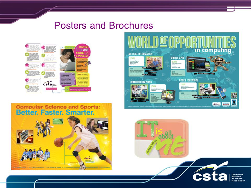 Posters and Brochures