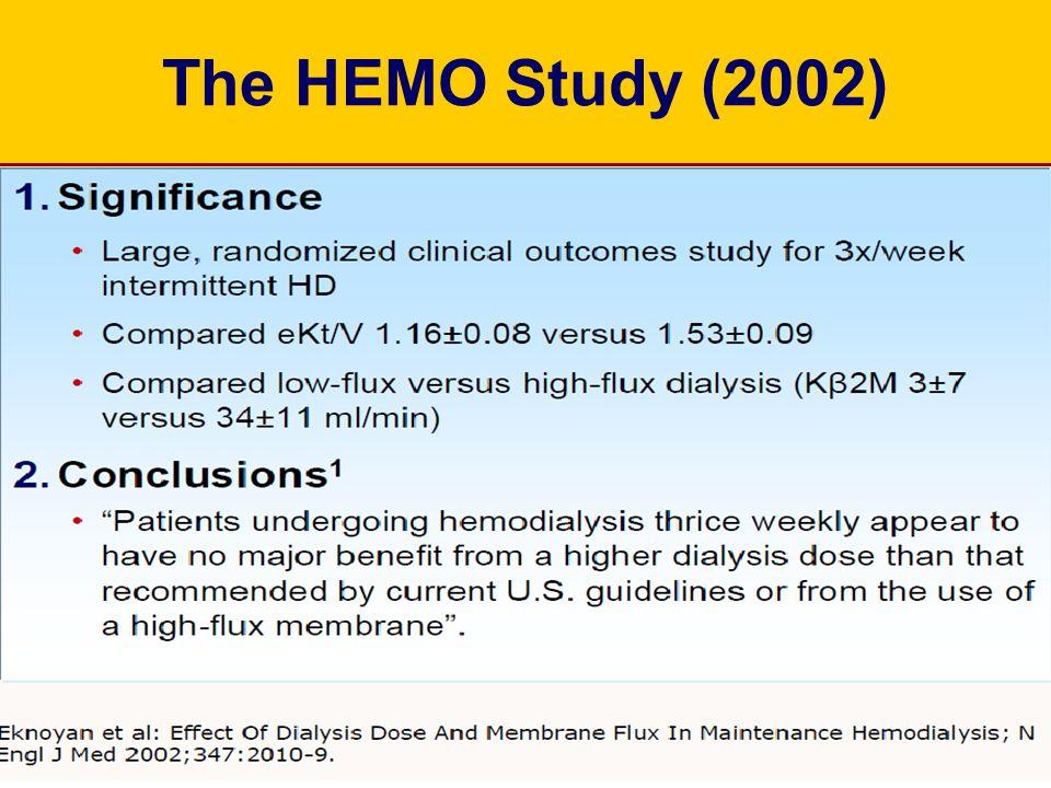 The HEMO Study (2002)
