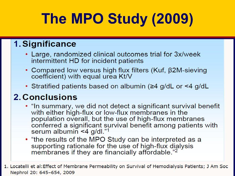The MPO Study (2009)