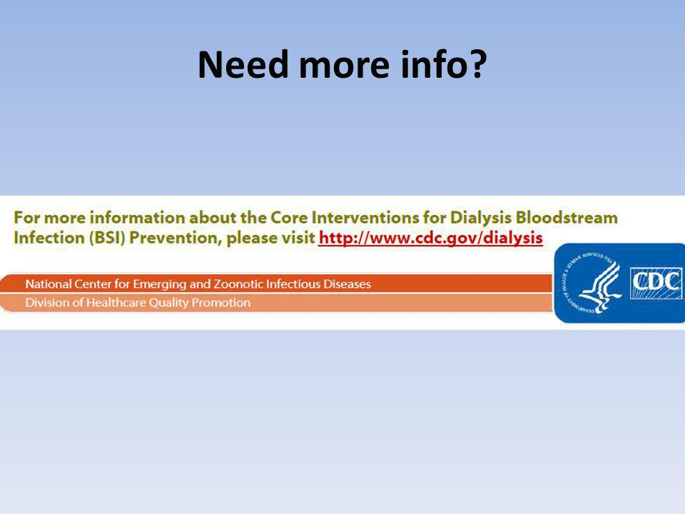 Need more info?