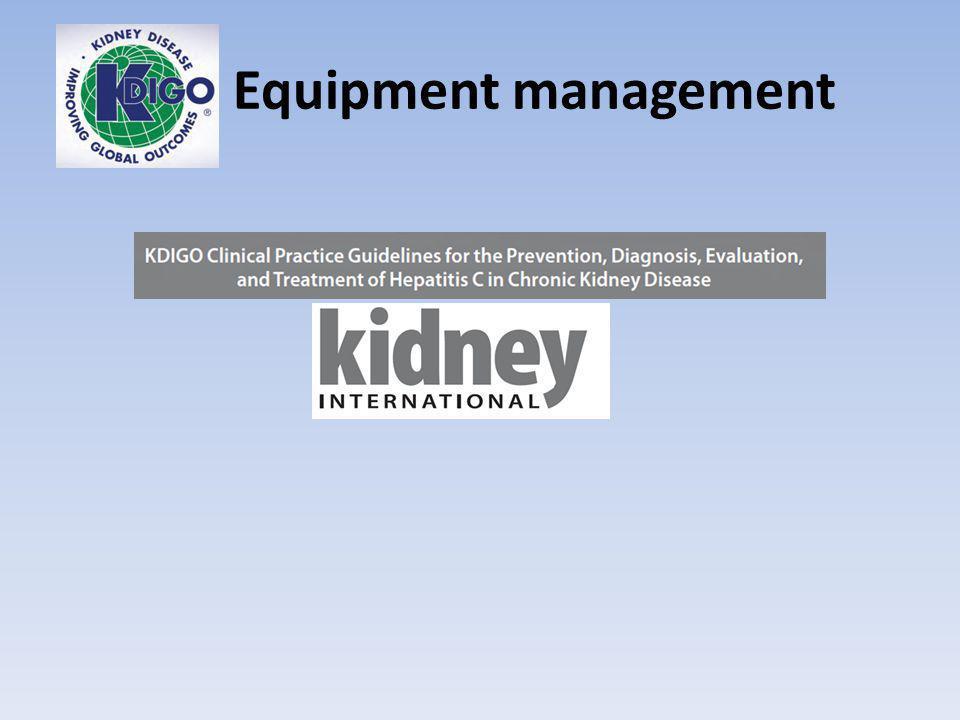 Equipment management