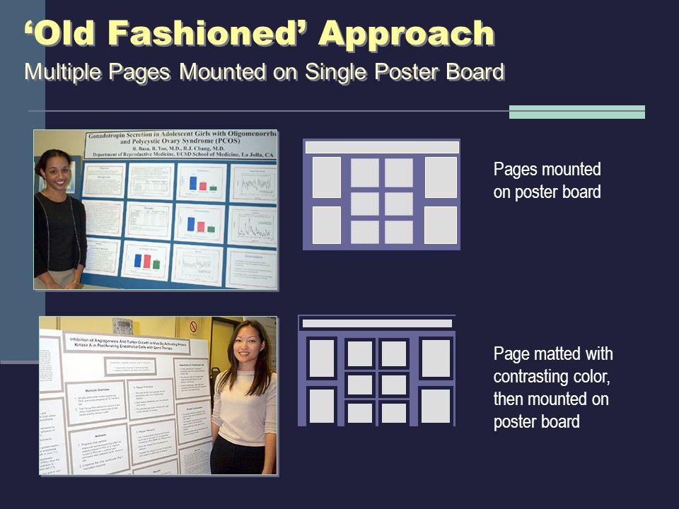 'Modern' Approach Single Panel in PowerPoint