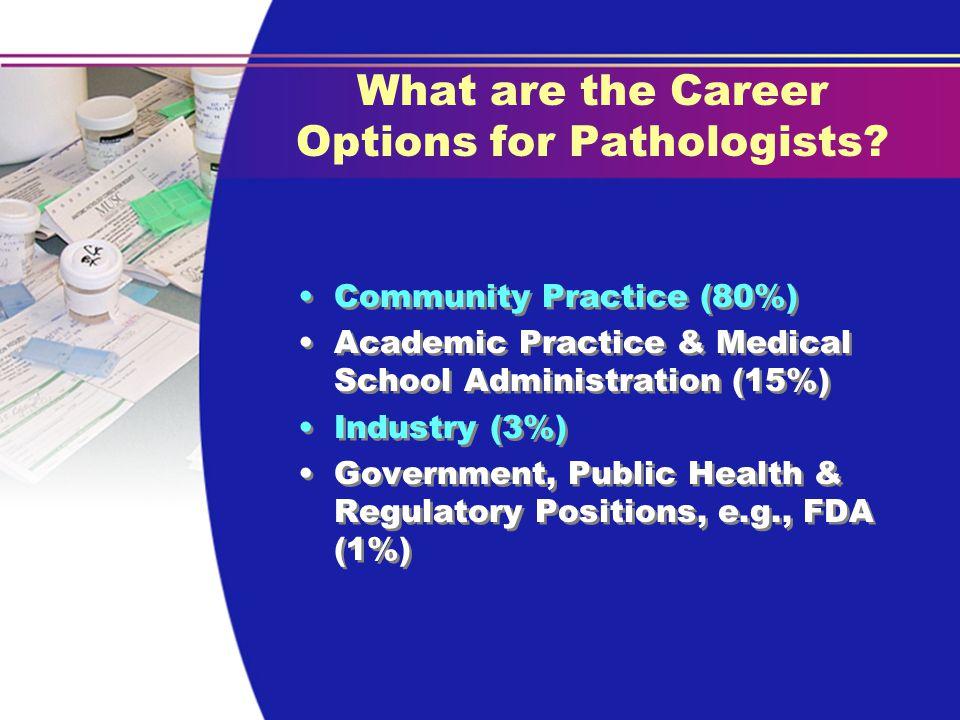 What are the Career Options for Pathologists.