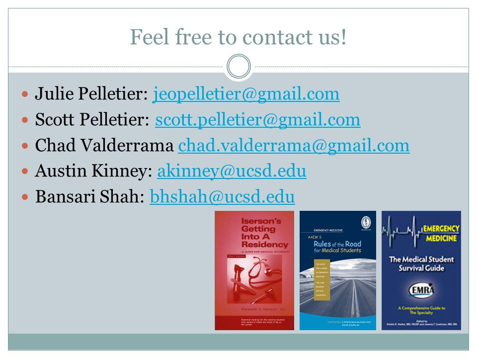 Feel free to contact us.