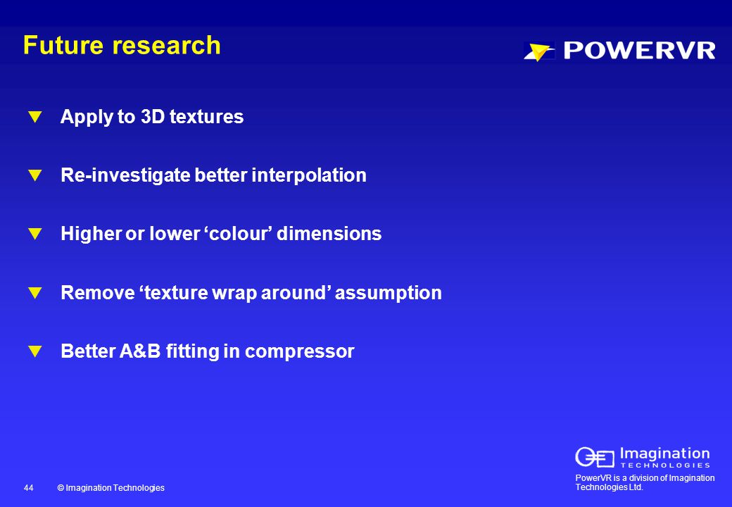 PowerVR is a division of Imagination Technologies Ltd.