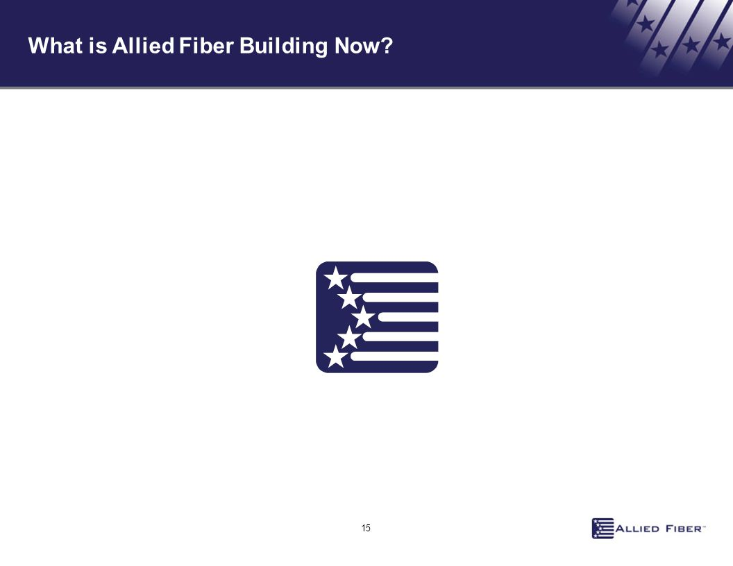 15 What is Allied Fiber Building Now?