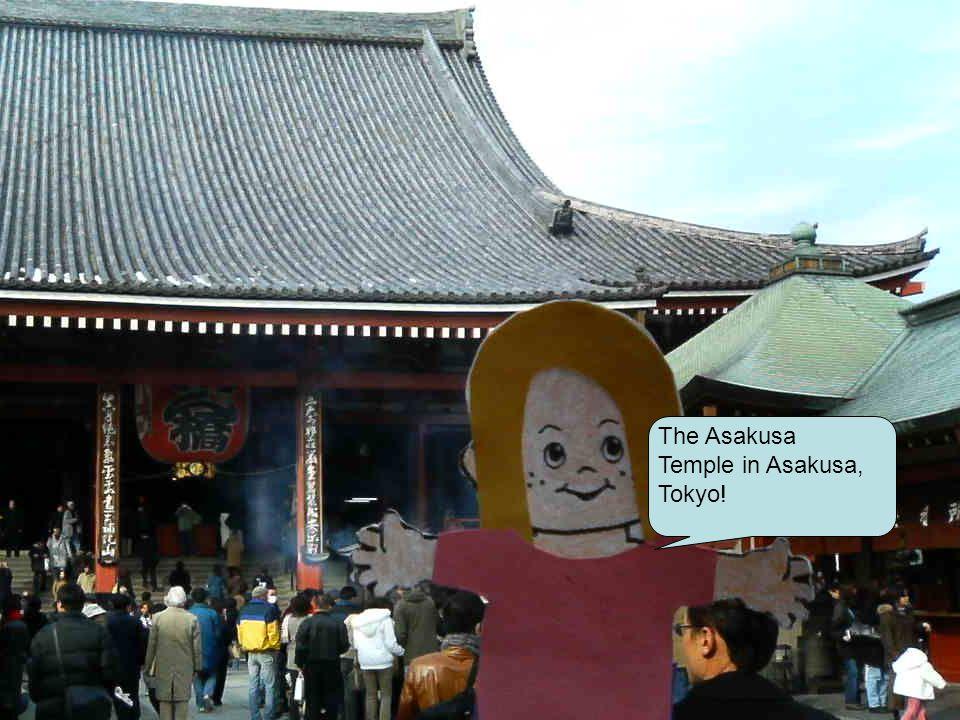 The Asakusa Temple in Asakusa, Tokyo!