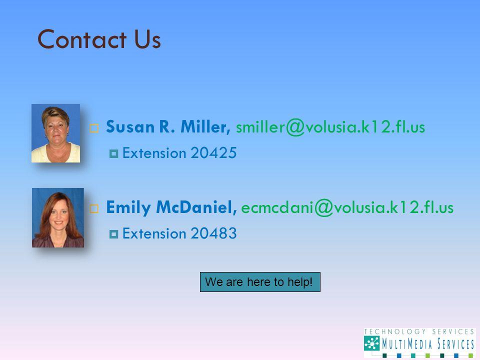 Contact Us  Susan R.