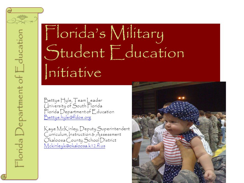 Resources to Assist Schools www.Tutor.com www.Soarathome.org www.fldoe.org/military