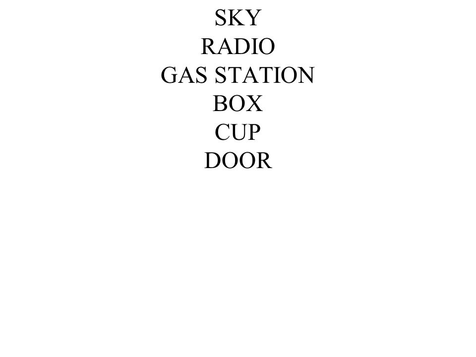 SKY RADIO GAS STATION BOX CUP DOOR
