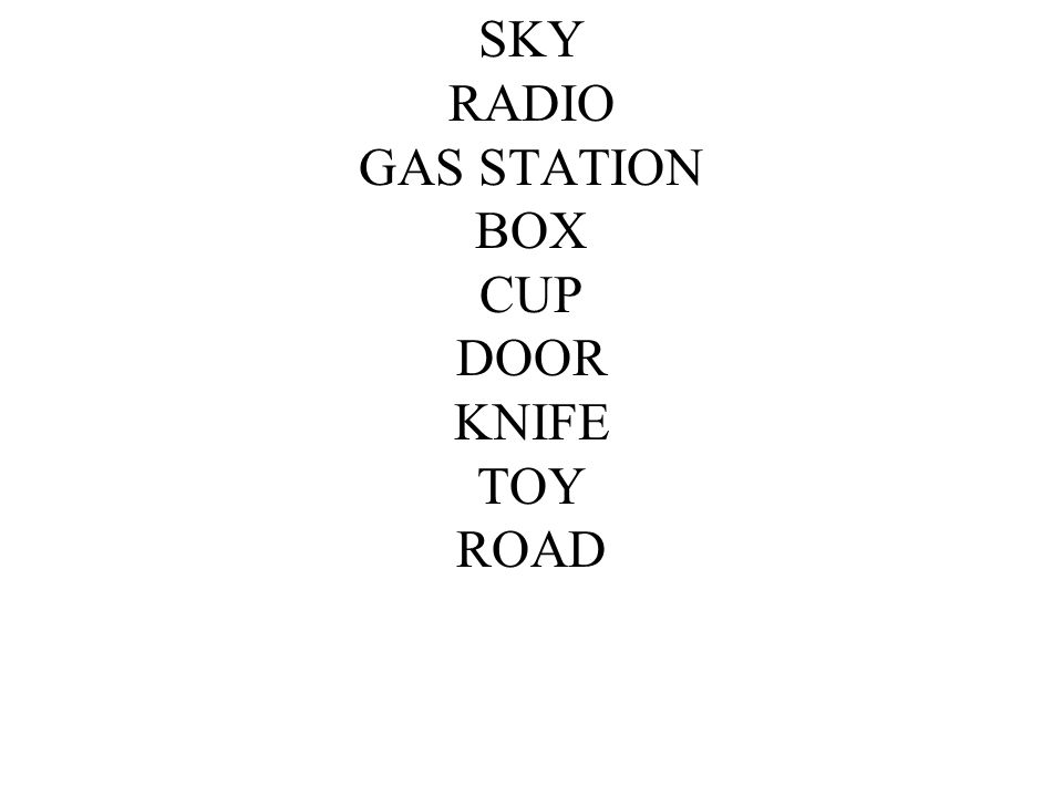 SKY RADIO GAS STATION BOX CUP DOOR KNIFE TOY ROAD