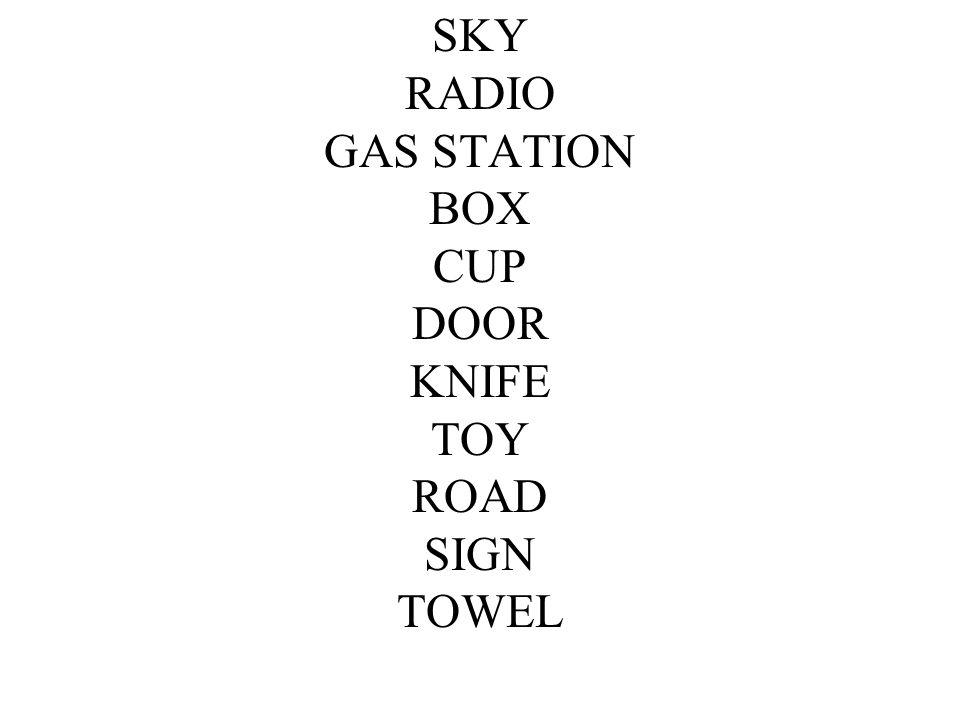 SKY RADIO GAS STATION BOX CUP DOOR KNIFE TOY ROAD SIGN TOWEL