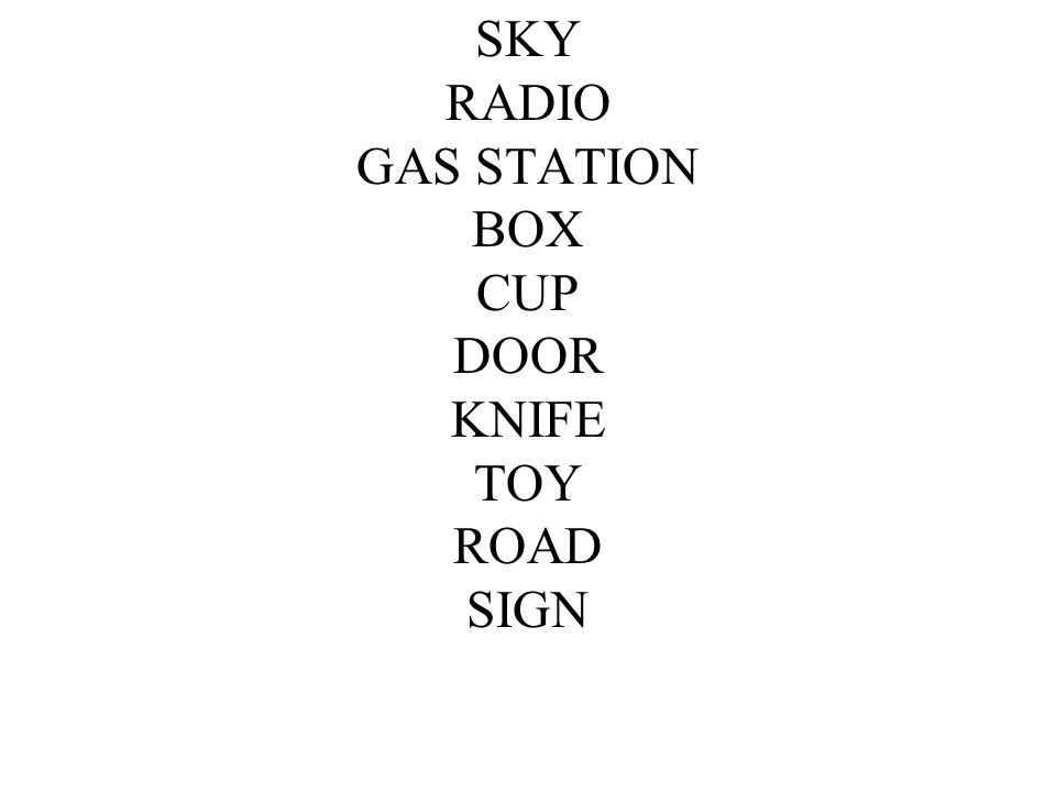 SKY RADIO GAS STATION BOX CUP DOOR KNIFE TOY ROAD SIGN