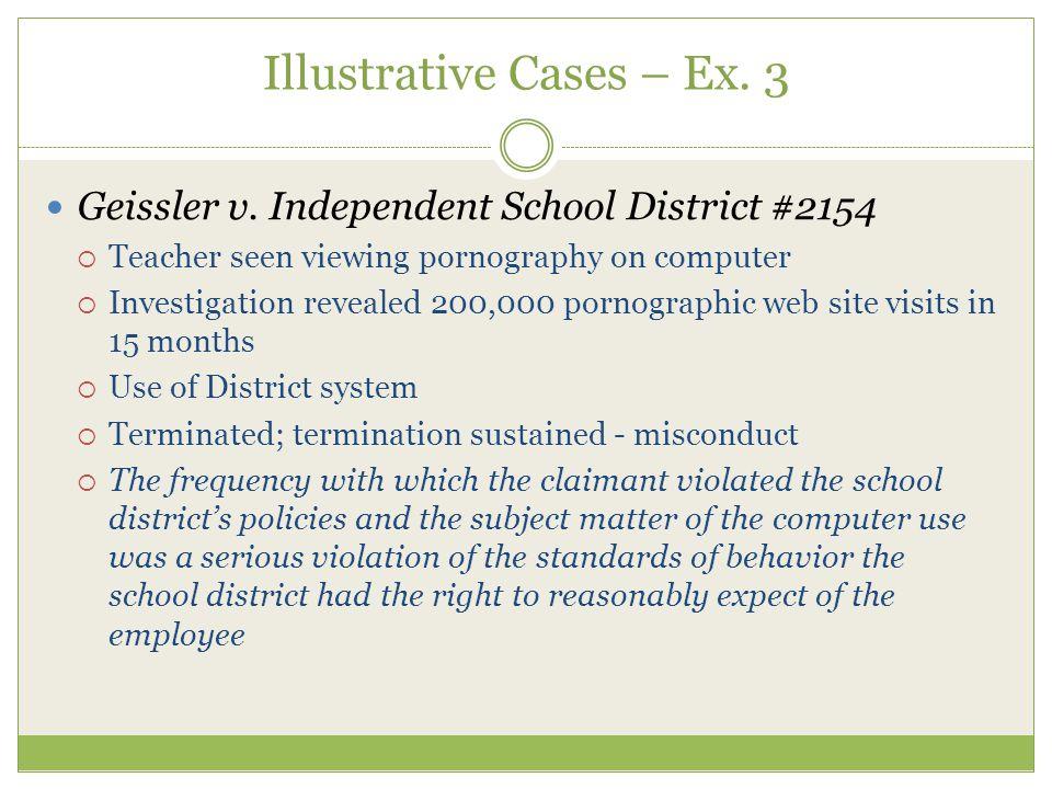 Illustrative Cases – Ex. 3 Geissler v.