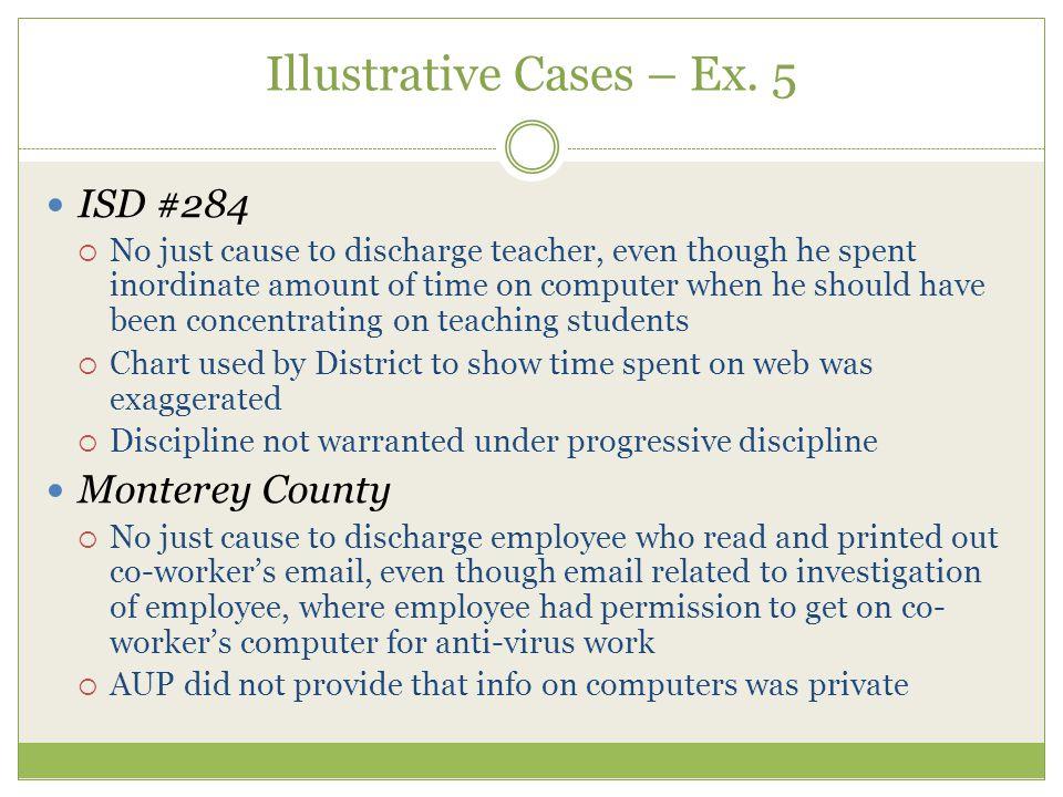 Illustrative Cases – Ex.