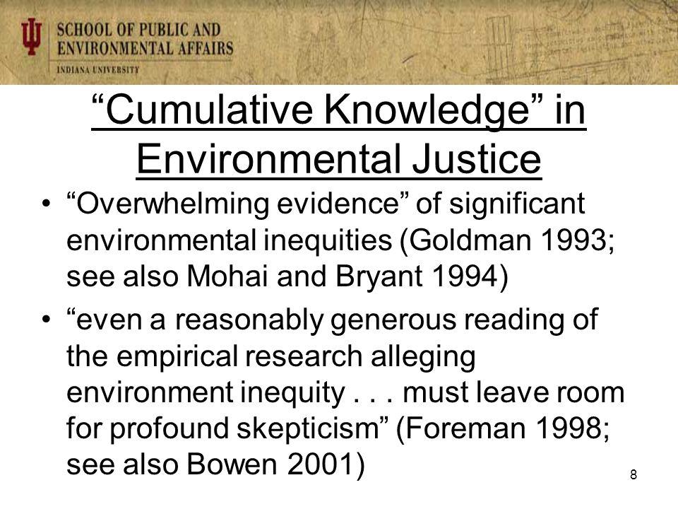Evan Ringquist eringqui@indiana.edu 89